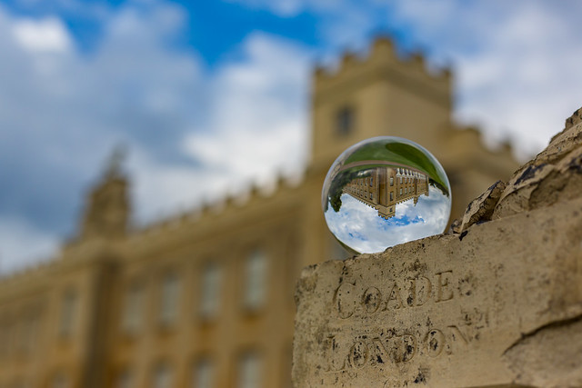 Syon House Through The Looking Glass by Simon Hadleigh-Sparks