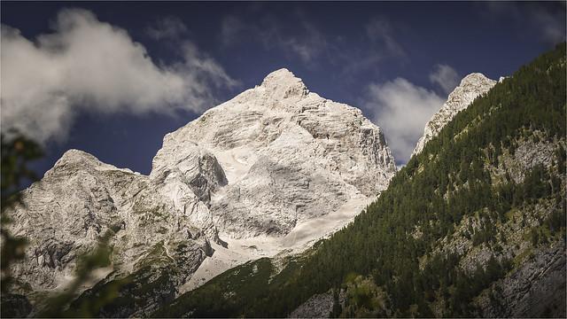 _DSC6949 Der Jalovec (2645m) - Ostflanke - Julischen Alpen / Slowenien
