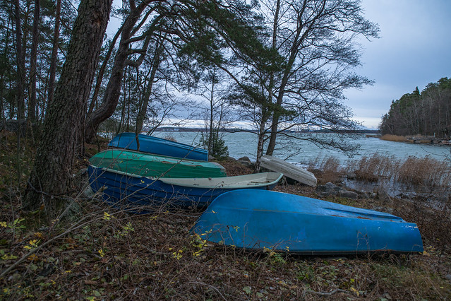 Boats at Ruissalo
