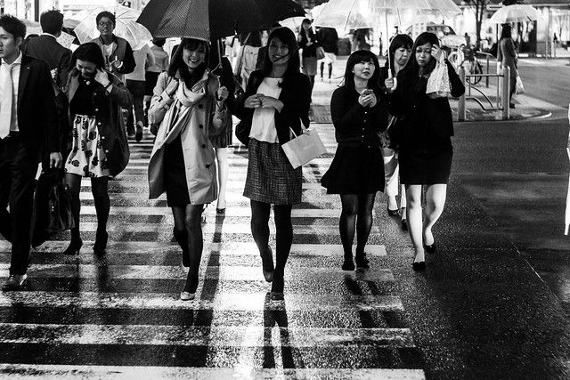 楽しい雨模様, Ginza