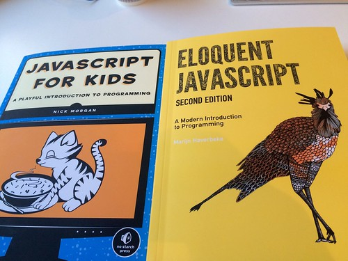 One programming language with two demographics: JavaScript for kids, and JavaScript for grown-ups. | by adactio