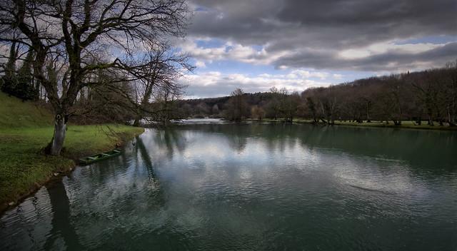 River Krka, Otocec, Slovenia