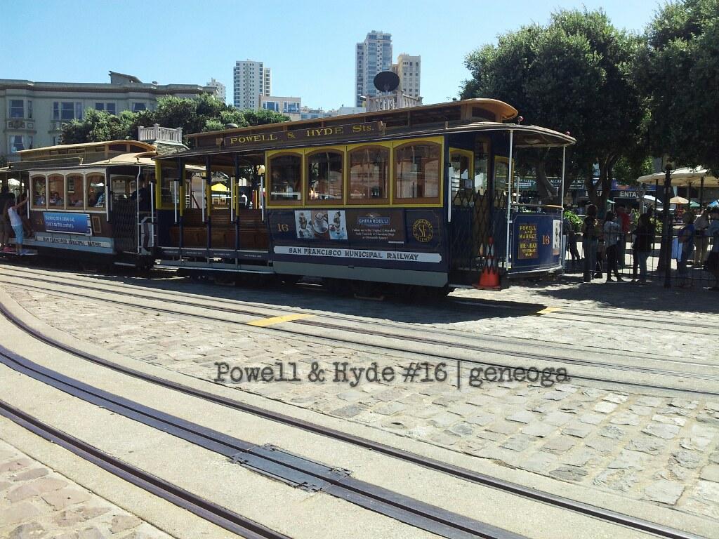 #Famous San Francisco Cable Car