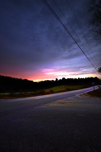 sunrise dawn newhampshire daybreak