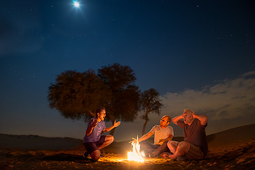 Campfire Storyteller | by RajeshLogan
