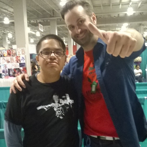 I Got To Meet The Amazing Voice Actor Ian Sinclair Over At