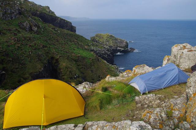 Fantastic wild camping spot