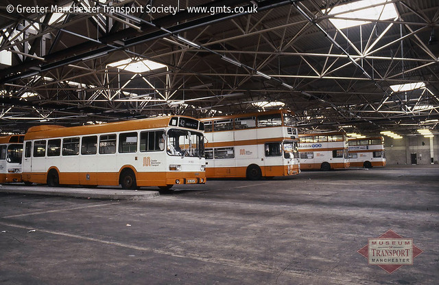 Greater Manchester Transport 169 in Bolton garage