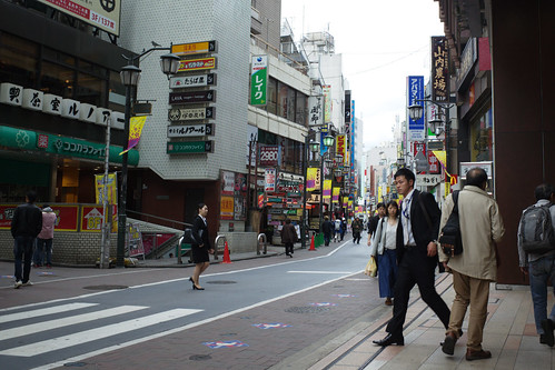 in front of Kichijoji Station, Tokyo