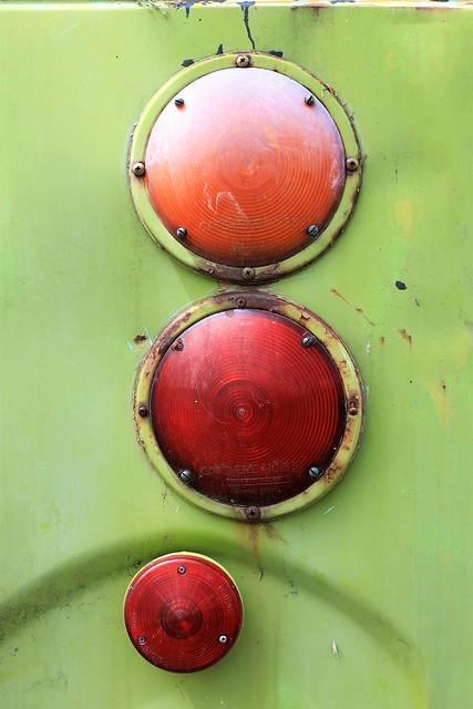 Vintage Bus Tail Lights