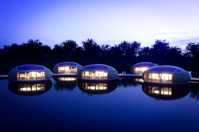 WaterNest Village by Giancarlo Zema for EcoFloLife