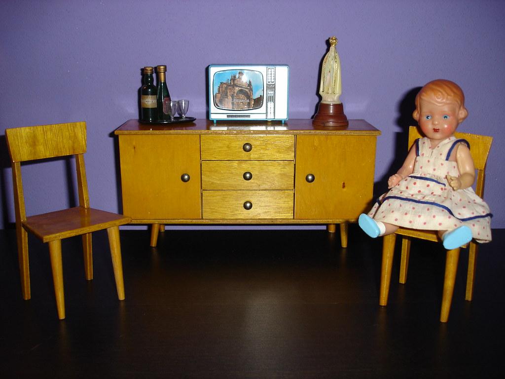 50 s furniture mob lia madeira anos 50 rocks68 flickr for Mobilia anos 50