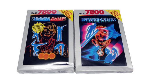 Atari 7800 - Summer e Winter Games | by TomBrazil100