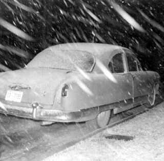 Snow Covered Car - Tallahassee