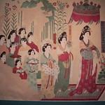 都督夫人太原王氏禮佛圖 Donor portrait of Lady Wang from Taiyuan in worship