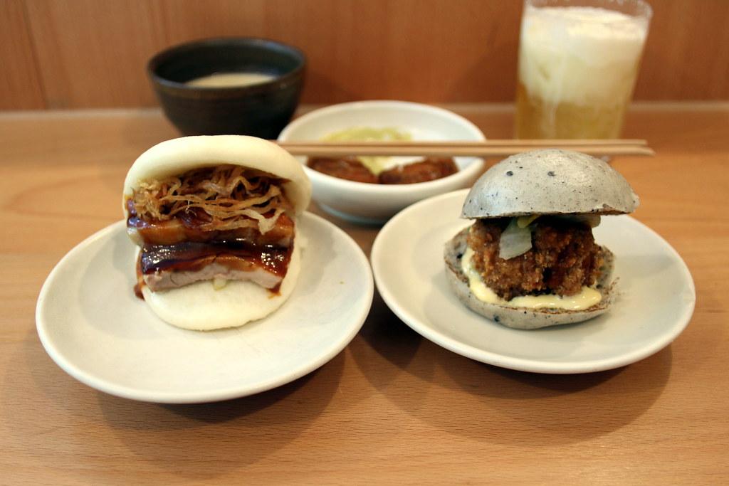 Pork confit bao, fried chicken bao and other BAO deliciousness