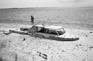 Boat on the beach, Dead Horse Bay