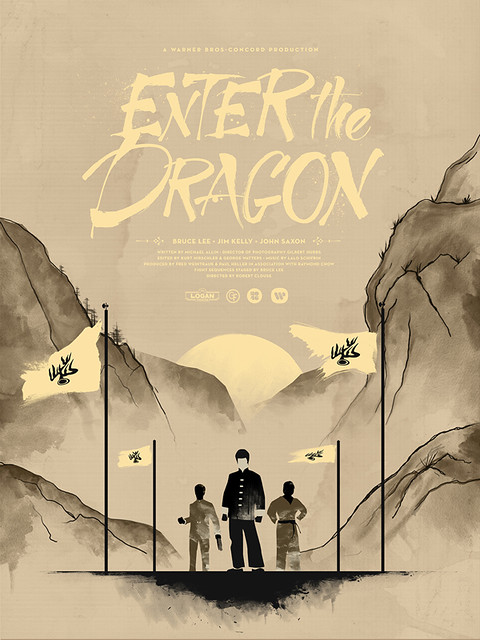 Enter the Dragon Variant by Justin VanGenderen