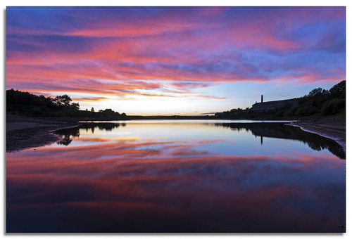 sunset lake landscape yorkshire ngc reservoir leeming 2015 d600 leemingreservoir nikkor1635mmf4 nikonfxshowcase