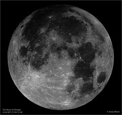 Moon at Perigee 27 Sept 2015