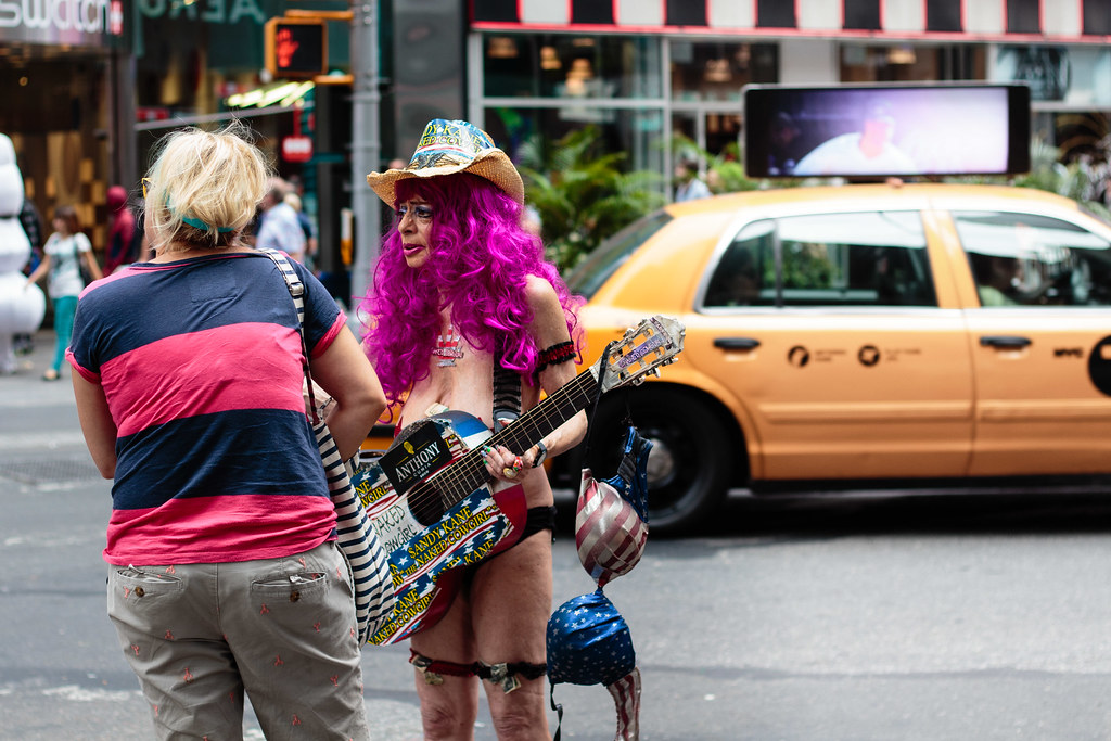 New York 2014 - Naked Cowboy, Halloween, Times Square   Flickr
