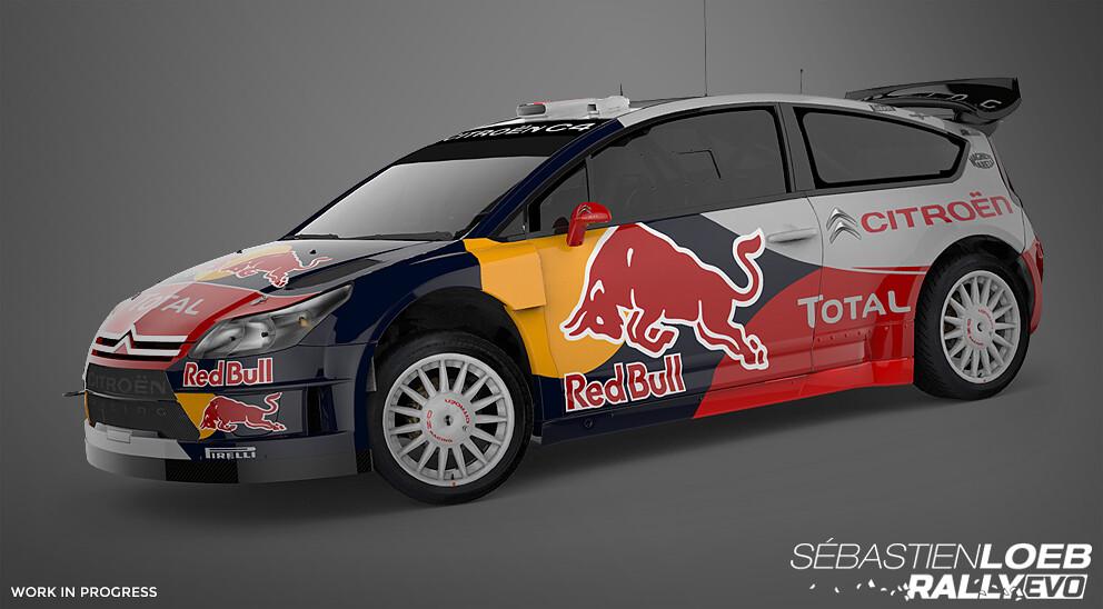 Sébastien Loeb Rally Evo Cars