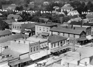 1899 or so - Looking NE from water tower