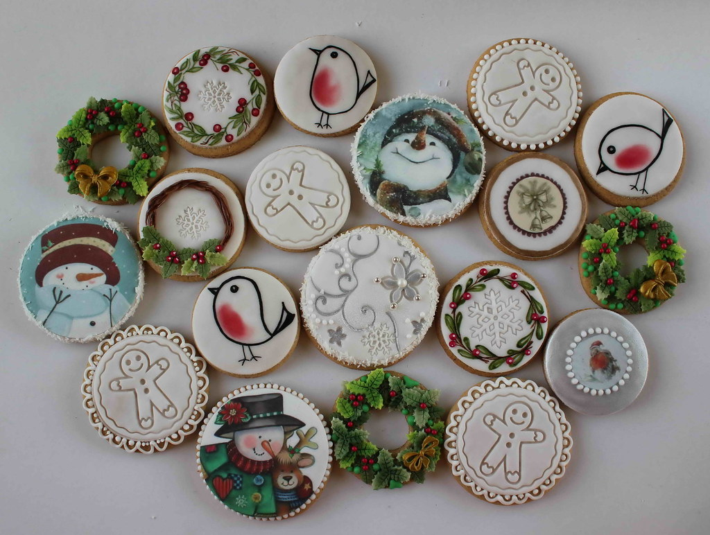 Christmas Cookies Round Bubolinkata Blogspot Bg 2017 01 Flickr