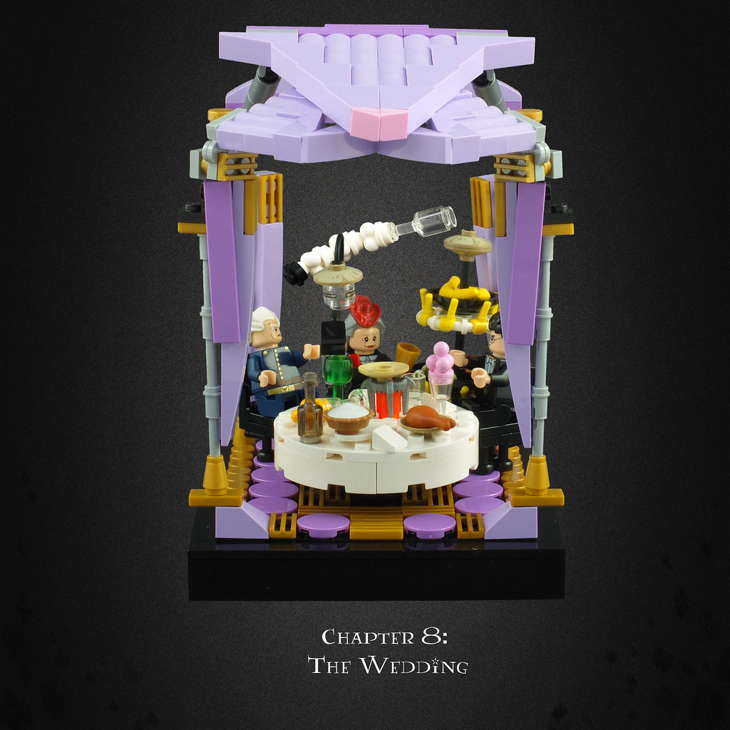 Harry Potter World Wedding: Harry Potter And The Deathly Hallows 04 – The Wedding
