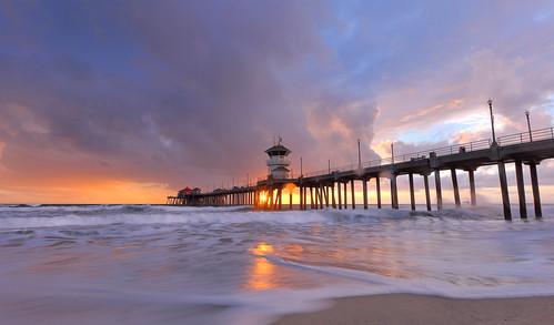 huntington beach pier sunset bmse salah baazizi wingsinmotion canon6d1740mmf4