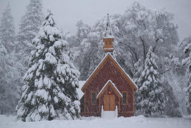 Wintry Chapel