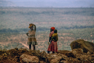 Looking out over The Great Rift Valley (Eastern Rift),