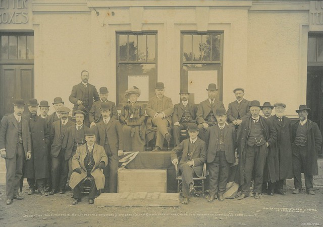 Opening of Green Island Post Office 1911