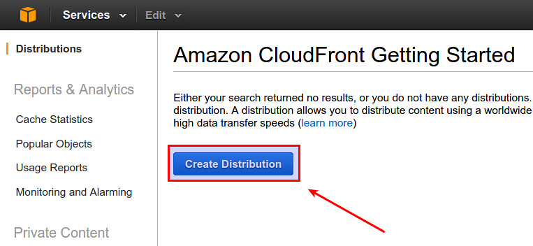 ... Set up Amazon CloudFront - by xmodulo