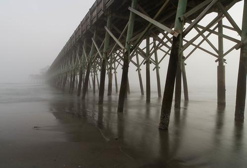travel sunset usa fog zeiss haze nikon southcarolina charleston follybeach atlanticocean hightide distagon d610 distagon2128zf edwinstaylorfollybeachfishingpier