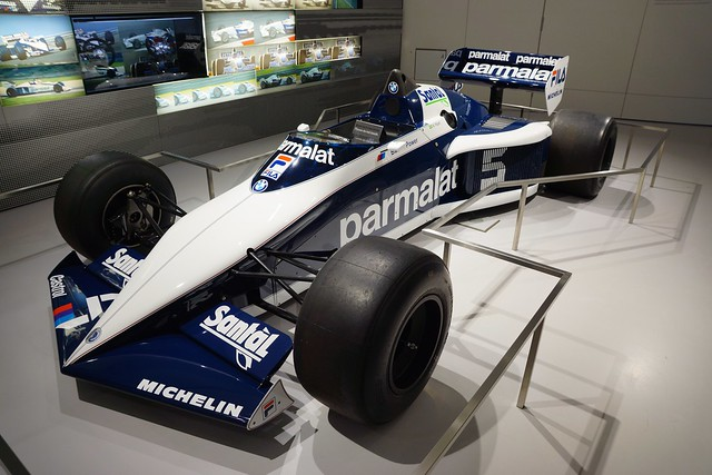 BMW Formula 1 racing car at the BMW Museum in Munich, Bavaria, Germany