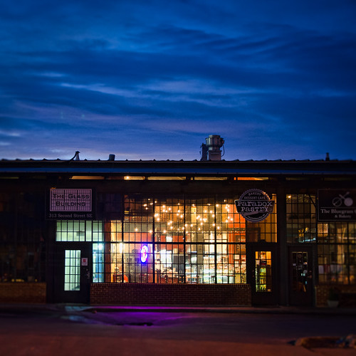 morning sunrise virginia downtown pastry charlottesville paradox glassbuilding bobmical