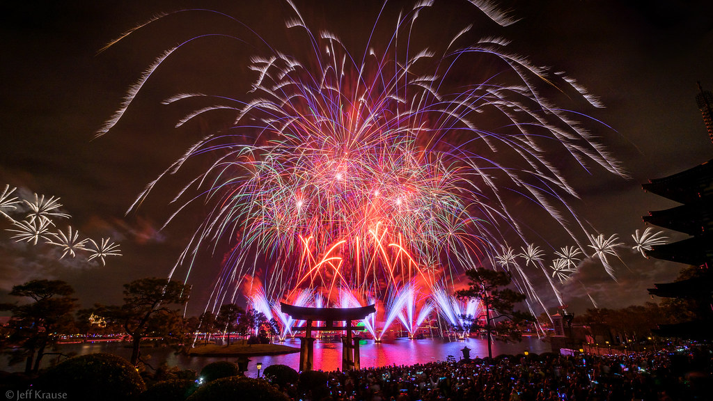 Epcot - New Year's Eve 2014