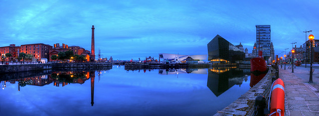 Dawn Breaks Over Canning Dock