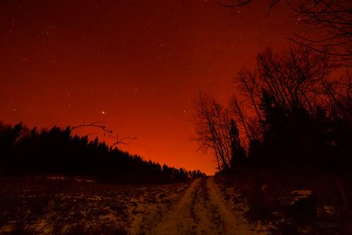 red silhouette norway stars u2 starrynight vestfold underabloodredsky