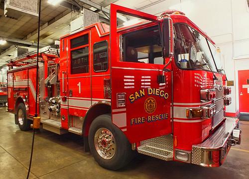 San Diego FD - Engine 1
