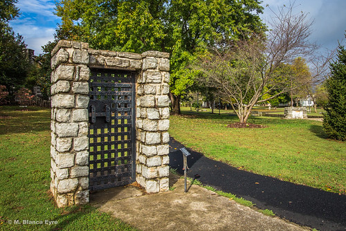 park door morning trees sky fall grass leaves clouds canon landscape fun book video ancient iron tn path stones weekend walk tennessee bricks contest saturday competition historic shade photowalk greenery networking recovery fayetteville ultrawideangle scottkelby bpg jaildoor filipinophotographer eos650d celebraterecovery worldwidephotowalk stonebridgememorialpark brentwoodphotographygroup rebelt4i kelbyone efs1018mm wwpw2014 nolongeraprisonerofthepast scapexplorer