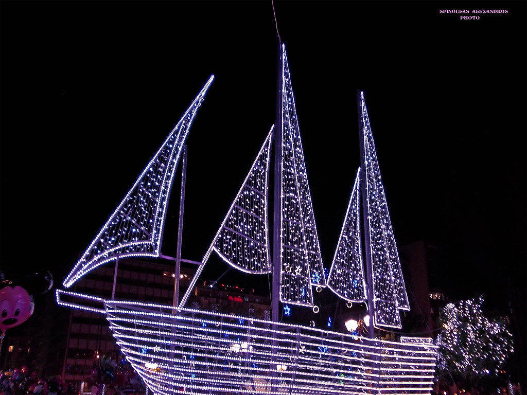 Christmas Boat Greece.Christmas Boat Athens Greece Ale3andros Spinoylas Flickr