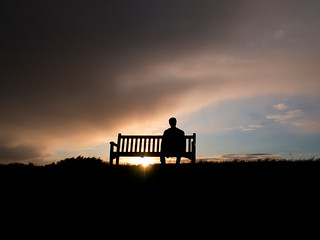 Bench Silhouette | by The Nick Page
