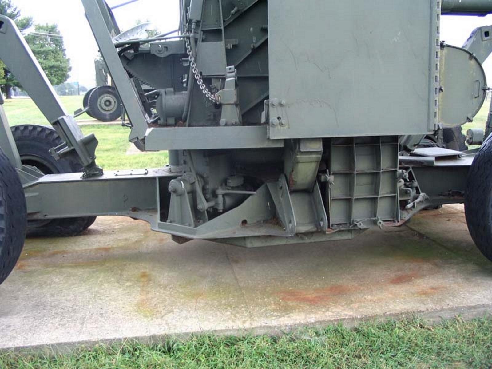 US 90mm M2 Anti-Aircraft Gun 3