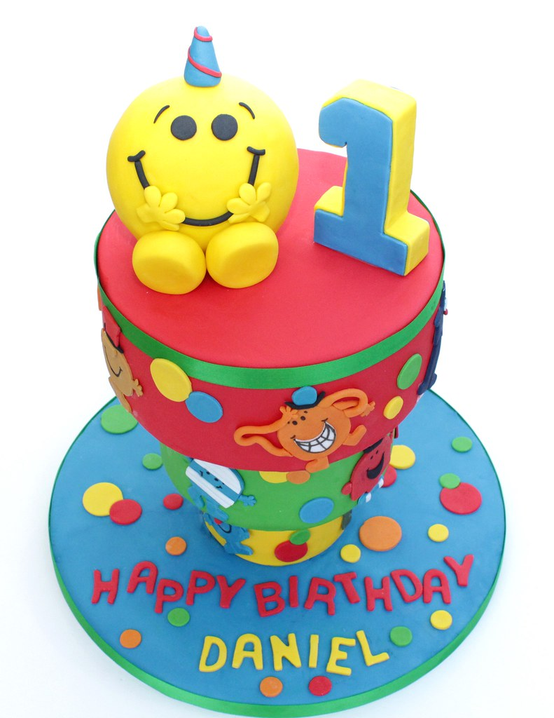 Astonishing Upside Down Mr Men Cake A Tospy Turvy Mr Men Themed Cake F Flickr Funny Birthday Cards Online Bapapcheapnameinfo