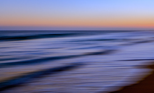 ocean sunset abstract sand waves newportbeach