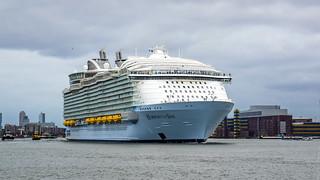 Harmony of the Seas - Nieuwe Maas - Port of Rotterdam | by Frans Berkelaar