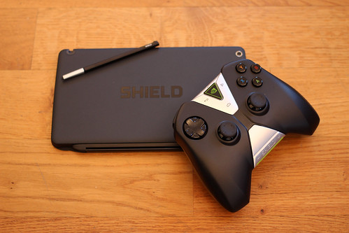 NVIDIA Shield Tablet with Wireless Controller | by pestoverde