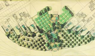 Inbetween garden rendering